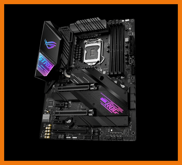 ASUS ROG Strix Z490-E Gaming (Wi-Fi) design