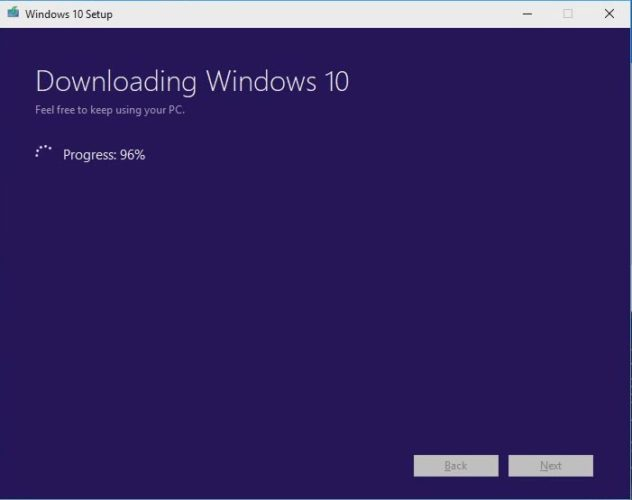 Downloading the Windows 10 Operating System on your USB drive