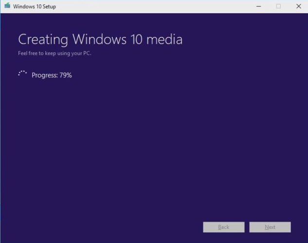 Install Windows 10 from USB on HP Laptop Downloading the Windows 10 Operating System on your USB drive