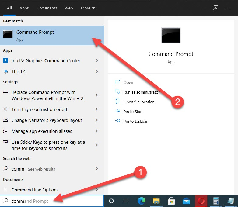 How to fix faulty hardware corrupted page in Windows 10-Fourth Solution Run SFC