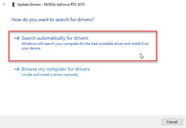How to Fix a Distorted Laptop Screen - Search Automatically for updated driver software
