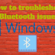 How to troubleshoot Bluetooth issues